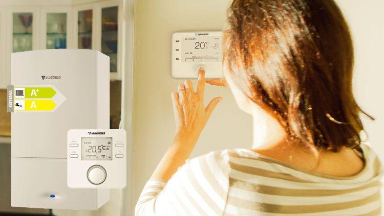 Eficiencia energética A+ con los nuevos cronotermostatos de Junkers
